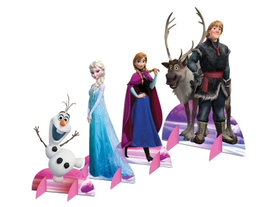 DECORAÇĂO DE MESA FROZEN
